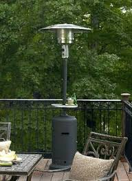 Hiland Patio Heater Instructions by Az Patio Heater Patio Heaters In Square Slatted Aluminum In Bronze
