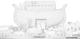 Coloring Pages Noah Ark 2