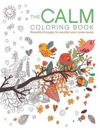 The Calm Coloring Book By Patience Coster