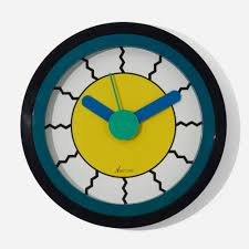 100 Design21 246 NATHALIE DU PASQUIER AND GEORGE SOWDEN Neos Wall Clock