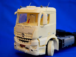 Alternative Front Bumper For German Construction Truck – A&N Model ...