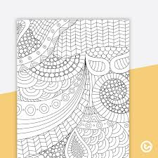 Zendoodle Christmas Coloring Pages Todays Mama
