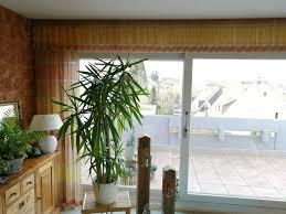 gardine wohnzimmer esszimmer gelb braun orange
