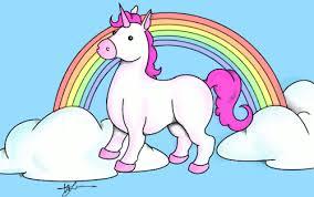 Pink Fluffy Unicorns Dancing On Rainbows Gif Images