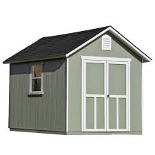 Roughneck 7x7 Shed Instructions by The Home Depot