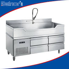 stainless steel fish cleaning preparation table buy fish