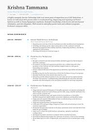 Field Service Technician - Resume Samples & Templates | VisualCV Best Field Technician Resume Example Livecareer Entrylevel Research Sample Monstercom Network Local Area Computer Pdf New Great Hvac It Samples Velvet Jobs Electrician In Instrument For Service Engineer Of Images Improved Synonym Patient Care Examples Awful Hospital Pharmacy With Experience Objective Surgical 16 Technologist