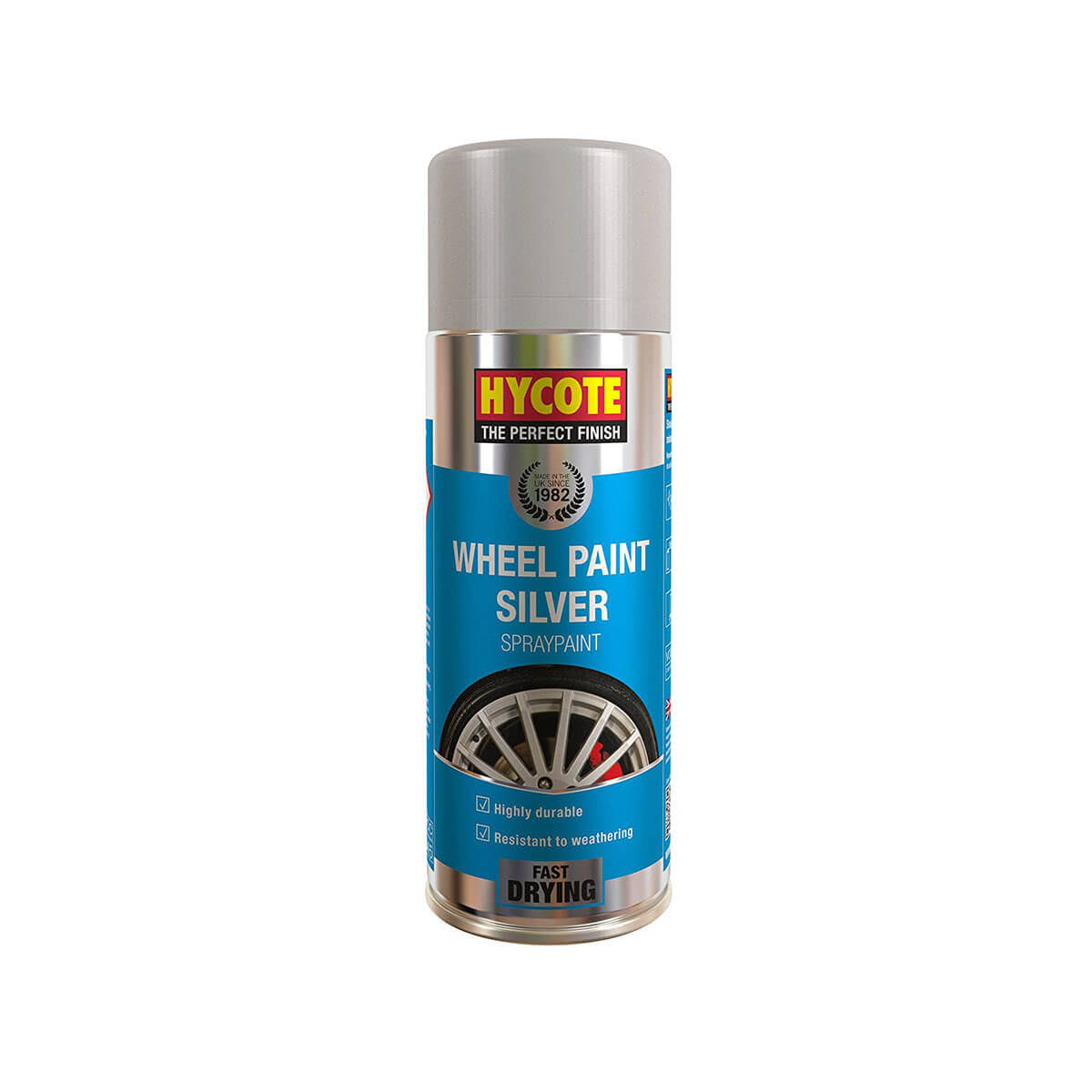Hycote Wheel Spray Paint - Silver