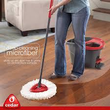 Bona Microfiber Floor Mop Walmart by Amazon Com O Cedar Easywring Microfiber Spin Mop And Bucket Floor