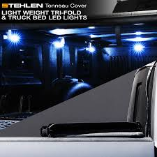 100 Truck Bed Lighting System Stehlen 733469490104 Light Weight Hard TriFold Tonneau Cover With