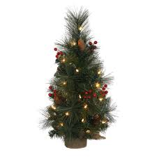 Pine Cone Christmas Tree Lights by Artificial Christmas Trees Prelit Table Top Artificial Christmas