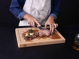 rib eye steak und weiße bohnen mit 5 zutaten