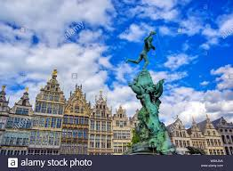 100 Where Is Antwerp Located The Brabo Fountain Located In The Grote Markt Main Square
