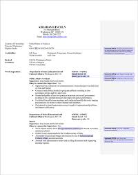 Federal Resume Sample How To Write For Government Job