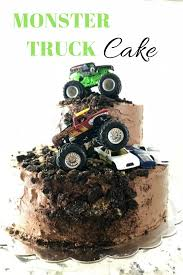 100 Monster Truck Birthday Party Supplies Celebrating 4 Years Life Anchored