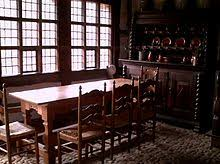 Historical Example Of A Domestic Dining Room In Germany