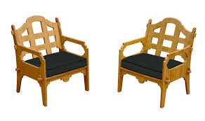 Wedgewood Bamboo Lounge Chair Set St Kitts Lounge Chairs Set Of 2 Panama Jack Key Biscayne Antique And Brown Outdoor Chair Set With Ottoman Piece Walker Edison Fniture Company Removable Cushions Wood Patio Gray 2pack Telescope Casual Larssen Cushion Swivel Rocker Side Table Abbots Court Cosco Alinum Chaise Costway 3 Wicker Rattan Steel Black Latvia Midcentury Ottoman By Corvus Priest Calvin Hee From Hay Chairset Blue