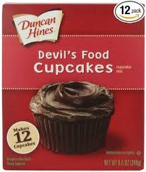 Amazon Duncan Hines Snack Size Devils Food Cupcake Mix 85
