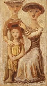 Al Fresco By Massimo Campigli Italian 1895