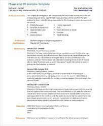 Ambulatory Pharmacist Sample Resume Node2003 Cvresume Cv Uk