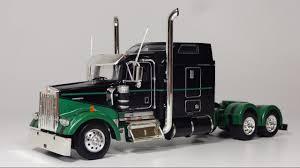 1 53 Kenworth W900l Show Tractor Kw W900 Truck Youtube 1 53 Kenworth ...