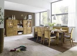 massivholz eckbankgruppe eiche tisch 130x95 und 2 esszimmerstühlen lederpolster braun essgruppe casera