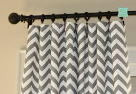 Yellow And Gray Chevron Bathroom Accessories by Hand Crafted Custom Designer Curtain Panels Ash Gray Grey Zig Zag