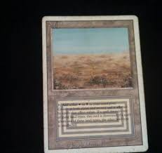 Mtg Revised Starter Deck Contents by Scrubland Revised Rare Magic The Gathering Collectibles Pinterest