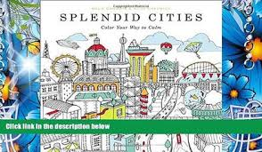 PDF Splendid Cities Color Your Way To Calm For Ipad