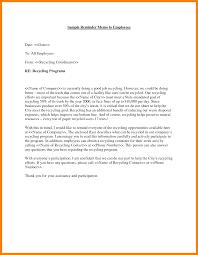 9 sample memo letter to employee
