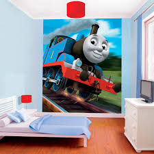 Thomas The Tank Engine Bedroom Decor by Thomas The Tank Engine Wallpaper By Walltastic Great