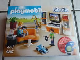 playmobil city 9267 wohnzimmer wohn zimmer mit