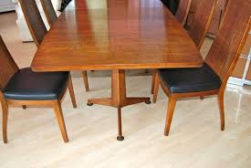 John Widdicomb Dining Table Room And Eight Chairs