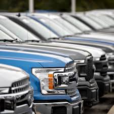 100 Truck Time Auto Sales Ford Vehicle Declined 32 In 2019 WSJ