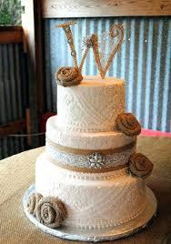 Burlap Wedding Cakes Best Ideas On Cake And