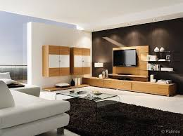 moderner wohnraum möbel in eiche lackiert lignum
