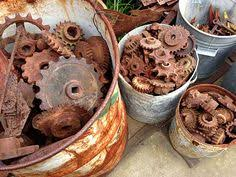 Vintage Cogs And Farm Machinery Rustic Gallery Perth