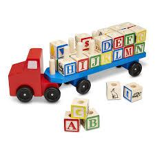 100 Melissa And Doug Trucks Amazoncom Personalized Alphabet Truck Toys Games