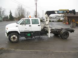 2000 GMC C7500 Crane Truck For Sale In Central Point, Oregon 97502 ...