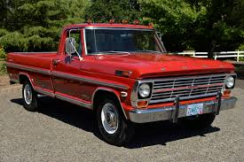 No Reserve: 1969 Ford F-250 Ranger Camper Special 4-Speed For Sale ...