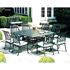 Person 8 Outdoor Dining Table Round Sets For 6 Patio Elegant On I