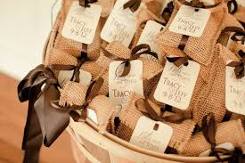 Burlap Themed Wedding