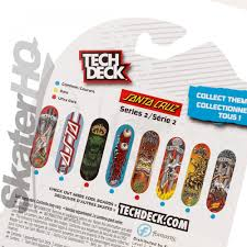 Tech Deck Finger Skateboard Tricks tech deck santa cruz eyes series 2 skater hq