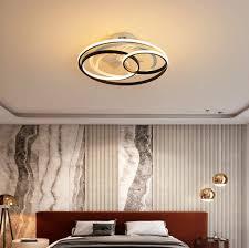 53cm deckenventilator led mit beleuchtung modern mit