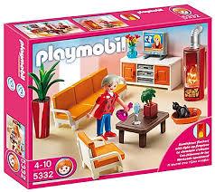 playmobil 5332 dollhouse behagliches wohnzimmer