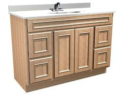 briarwood 48 w x 21 d x 34 1 2 h woodland vanity sink drawers