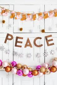A Beautiful Mess Stacked Christmas Garlands Diy