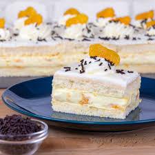 mandarinenkuchen mit paradiescreme