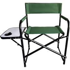 Hinterland Director's Chair With Side Table - Green