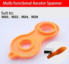 plastic faucet aerator repair kit replacement tool spanner for